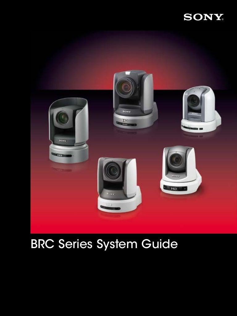 Sony BRC Series