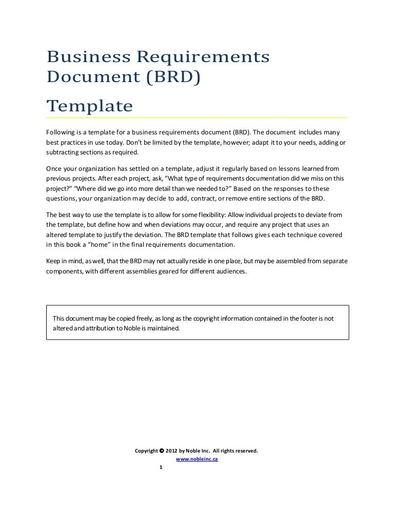 Brd format barearsbackyard brd format business requirement document wajeb Choice Image
