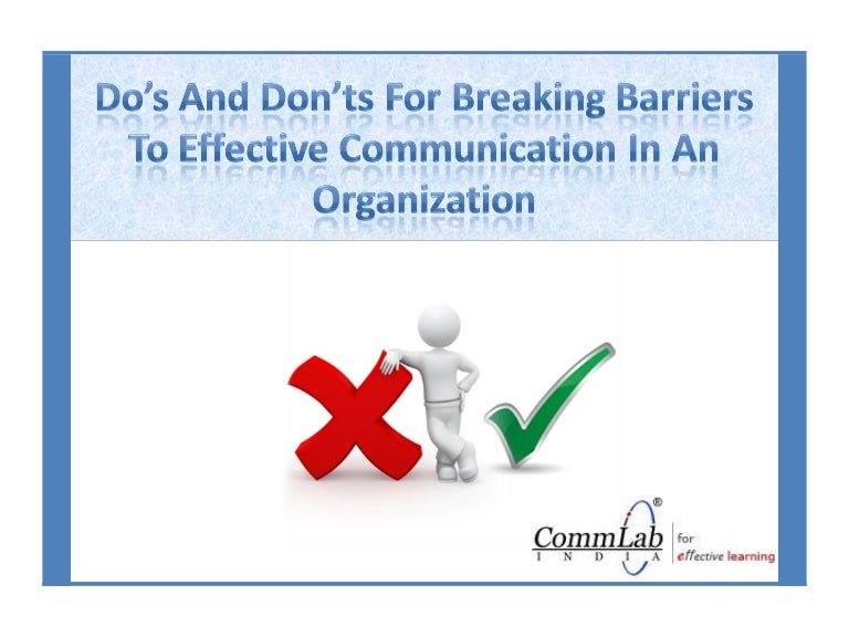 barriers to effective communication in healthcare Communication barriers in health care settings  to be effective, both patients and providers need to  overcoming patient-provider communication barriers in.