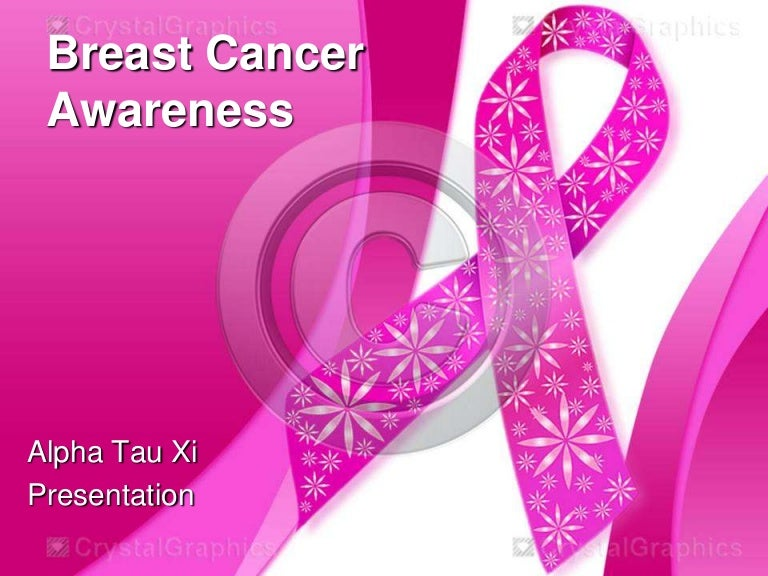 breast cancer awareness, Breast Cancer Ppt Template, Powerpoint templates