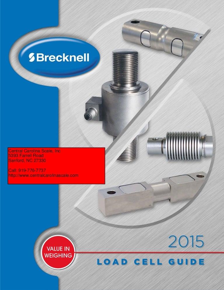 BM3 6T StainlessS Beam Metric Load Cell 1 pc Brecknell BM3-C3-6.0t-3B