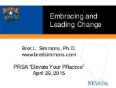 Embracing and Leading Change