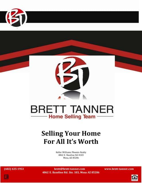 Brett tanner vip listing packet