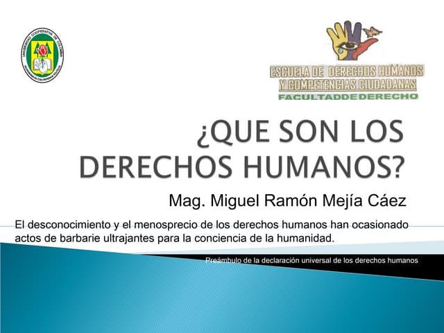 BREVE HISTORIA DE LOS DERECHOS HUMANOS (DIPLOMADO FUNDES MÓDULO 2)
