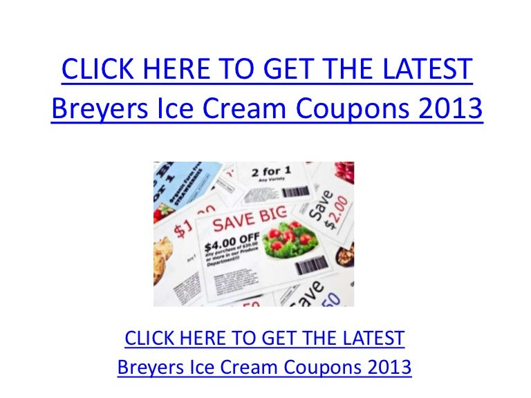 photo about Breyers Ice Cream Coupons Printable called Breyers Ice Product Coupon codes 2013 - Printable Breyers Ice Product