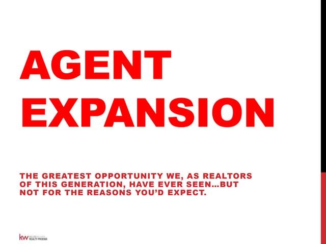 Brian Gubernick   Agent Expansion