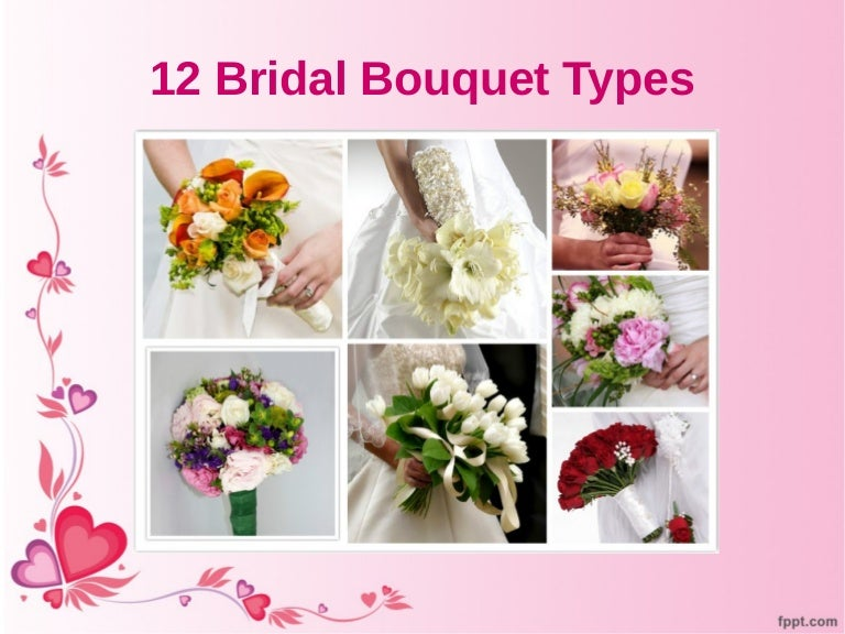 12 Bridal Bouquet Types