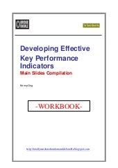 Bridge Knowle Workshop - Developing Effective KPIs (Companion Workbook)