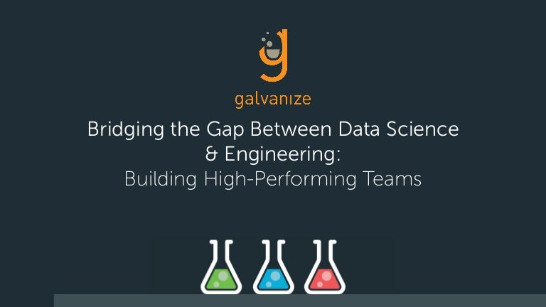 Bridging The Gap Between Data Science Engineer Building High Perfo
