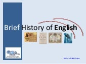 a brief history of english by paul roberts summary
