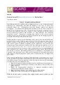 GCARD2: Briefing paper Household Nutrition Security (WFP)