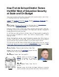 Briefings direct transcript how florida school district tames the wild west of education security at scale and on budget