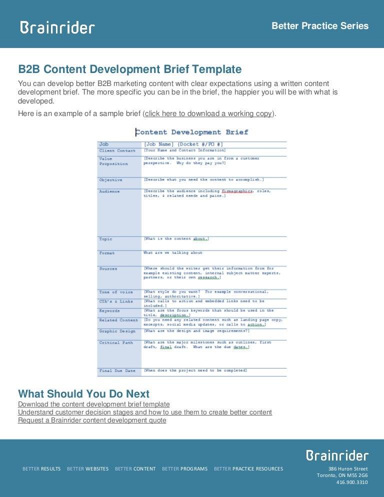 Download] website brief (template) bonsai.
