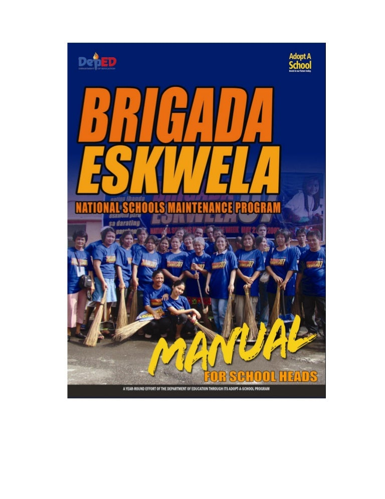 Brigada eskwela manual yadclub Gallery