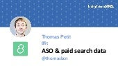 ASO & Paid Search - BrightonSEO 2017 @Thomasbcn