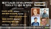 Part 2, Best Sales Development Tools to Use in 2015
