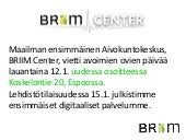 Briim center ryhmille