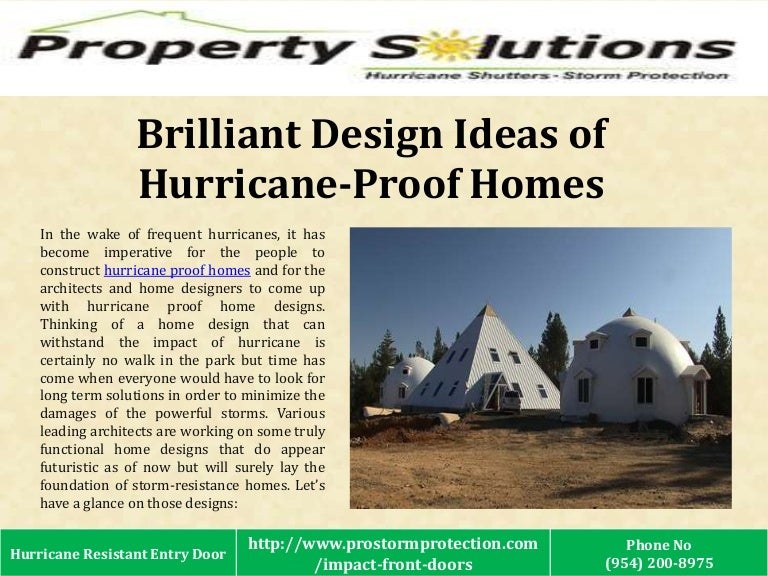 brilliant design ideas of hurricane proof homes - Hurricane Proof Homes Design