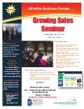 Bristol Growing Sales Seminar, April 20, 2011