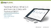 Tackling Python: What is it and how can it help with Technical SEO?