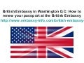 British embassy in washington d.c
