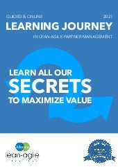 Brochure - Learning Journey Mastering Lean-Agile Procurement (Credential2)