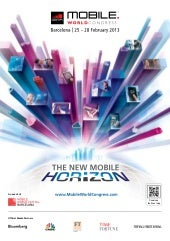 Brochure Mobile World Congress 2013