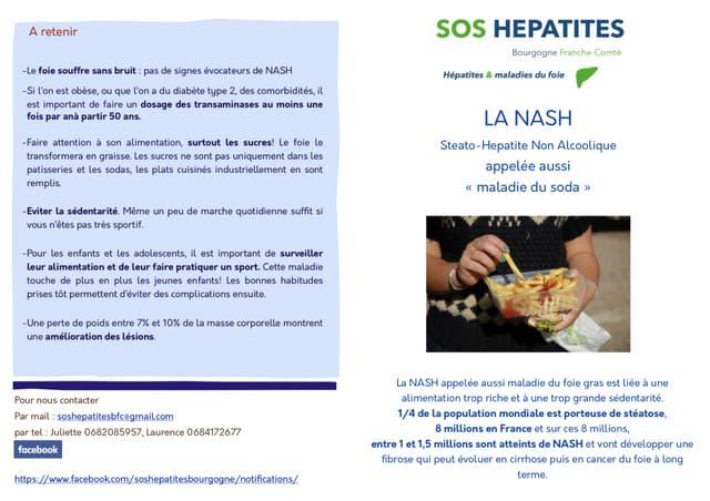 """Brochure """"La NASH"""""""