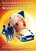 Automotive Retail in 2015 - PDF Bovag