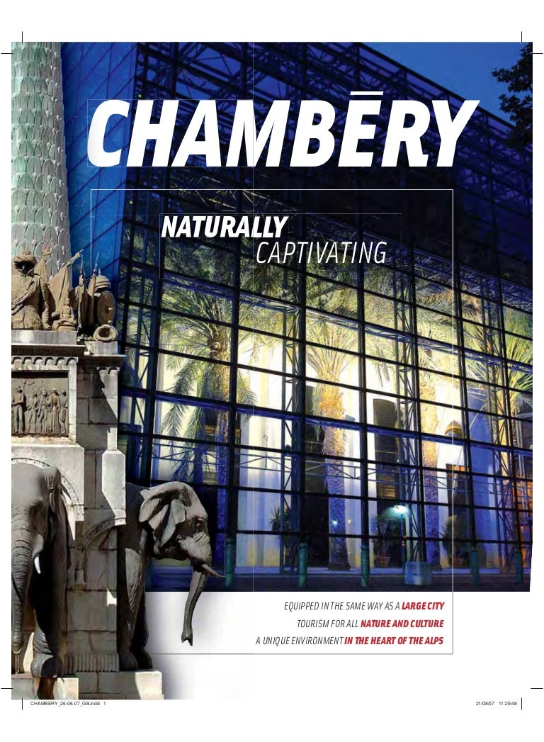 Cuisine Pour Tous Chambéry inseec alpes-savoie brochure chambery naturally captivating