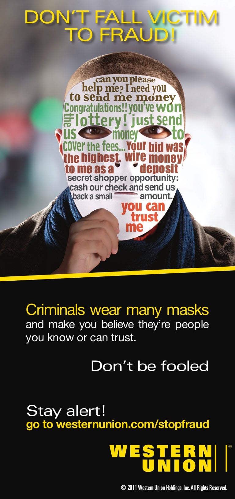 Brochure Dont Fall Victim To Fraud Wiring Money Near Me