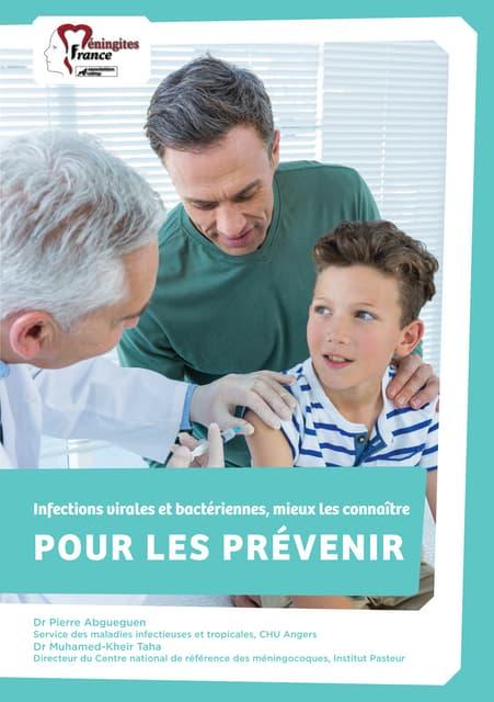 """Brochure """"Infections virales et bactériennes, mieux les connaître pour les prévenir"""""""
