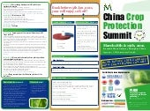 Brochure of china crop protection summit 2011
