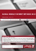 Global Mobile Payment Methods 2013_by yStats.com
