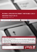 Global Online Payment Methods 2013 - Second Half 2013_by yStats.com