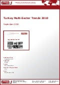 Turkey Multi-Sector Trends 2010 by yStats.com