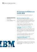Programme de Réferences Clients IBM Software