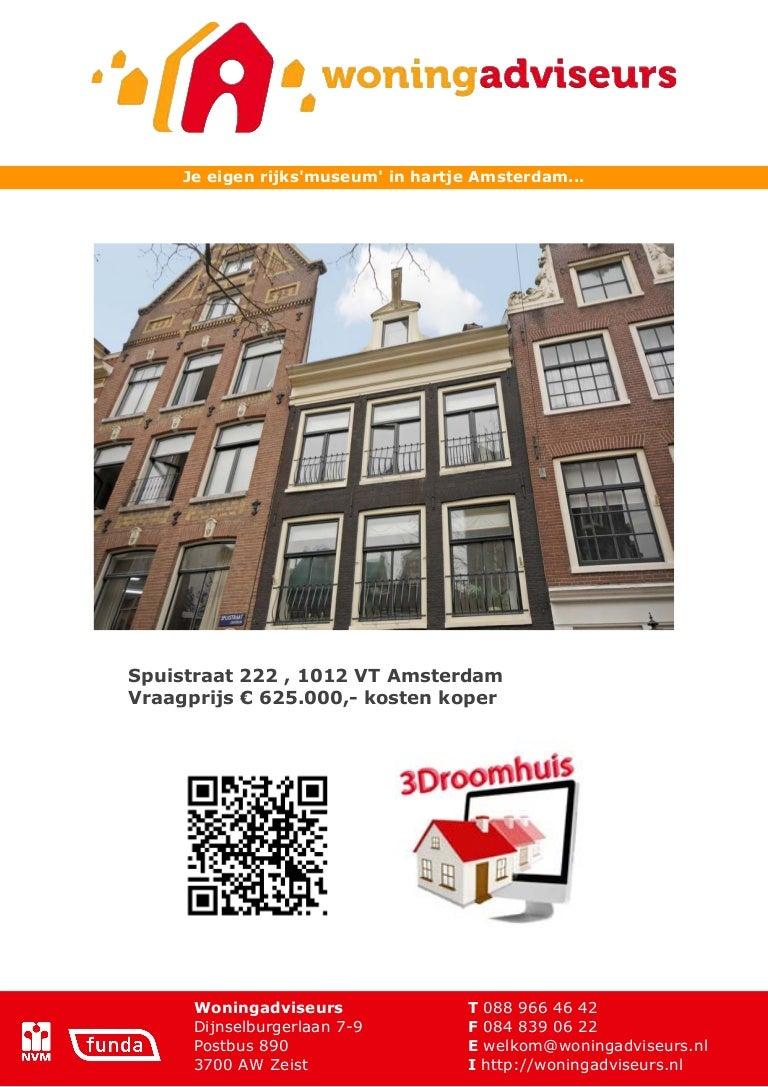 Wonderbaarlijk Brochure spuistraat 222 - Amsterdam GN-65