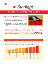 Starlight® FR - Flame retardant Pet Yarns