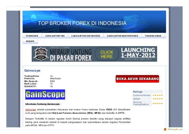 Forex indonesia terbaik