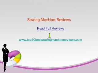 Must Read! Brother cs6000i Computerized Sewing Machine Review