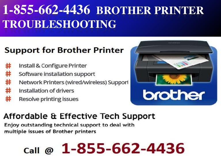 1) 1_855-662-4436 Brother Printer Troubleshooting
