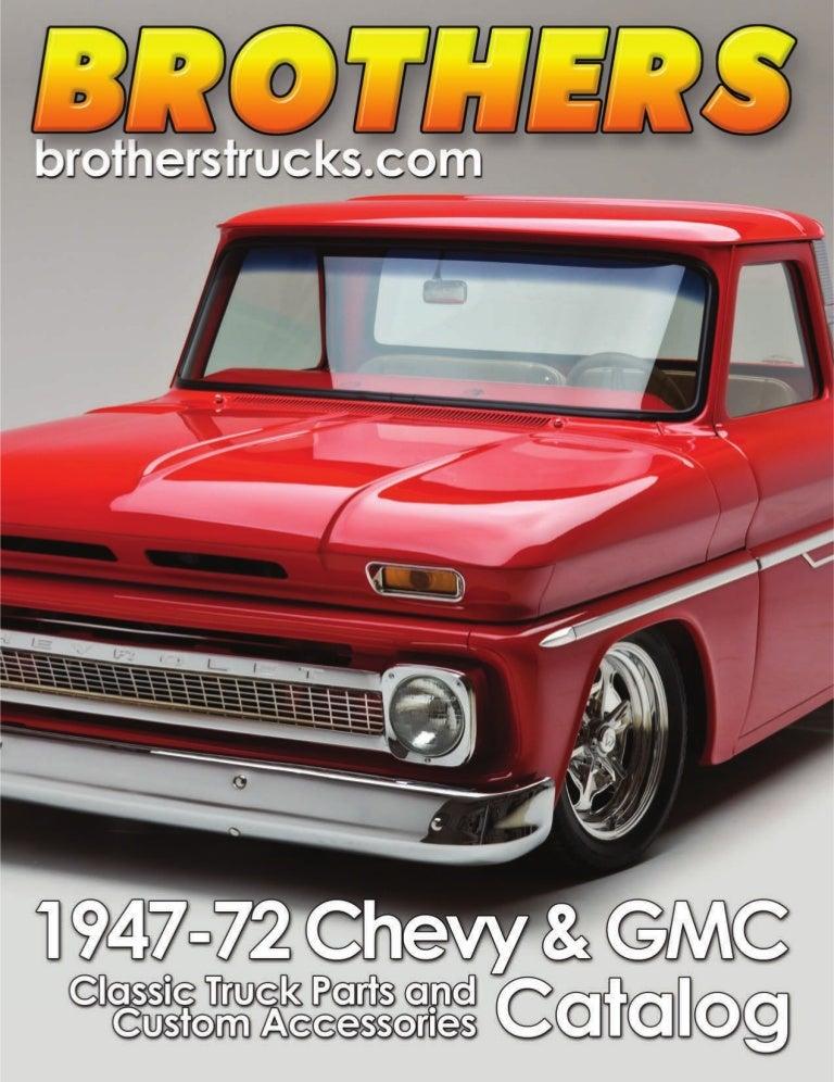 Chrome Door Mirror Brackets W// Smooth Mirror Heads for 1955-59 Chevy//GMC Truck
