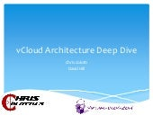 vCloud Architecture BrownBag