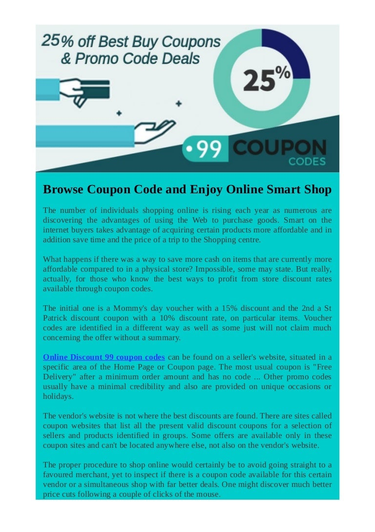 Browse Coupon Code And Enjoy Online Smart Shop