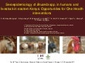 Seroepidemiology of Brucella spp. in humans and livestock in eastern Kenya: Opportunities for One Health interventions