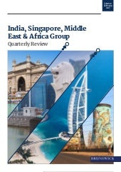 India, Singapore, Middle East and Africa – quarterly review