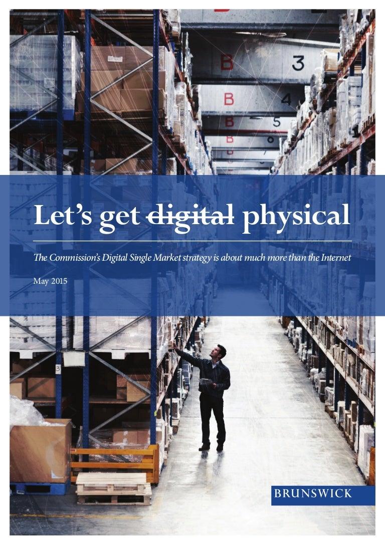 Brunswick report - EU digital single market strategy