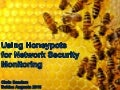 BSA2016 - Honeypots for Network Security Monitoring