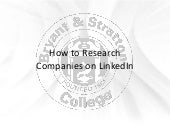 How to Research Companies on LinkedIn